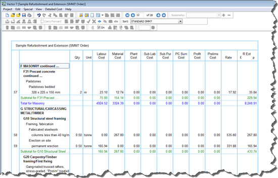 Vector for How to estimate building materials for home construction